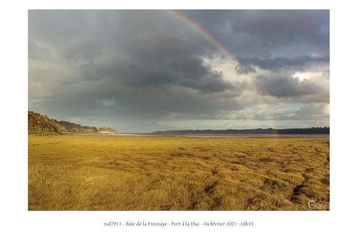 portfolio du photomarcheur - arc en ciel dans la baie
