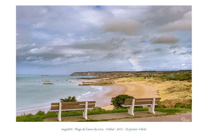portfolio du photomarcheur - la plage de l'Anse du Croc