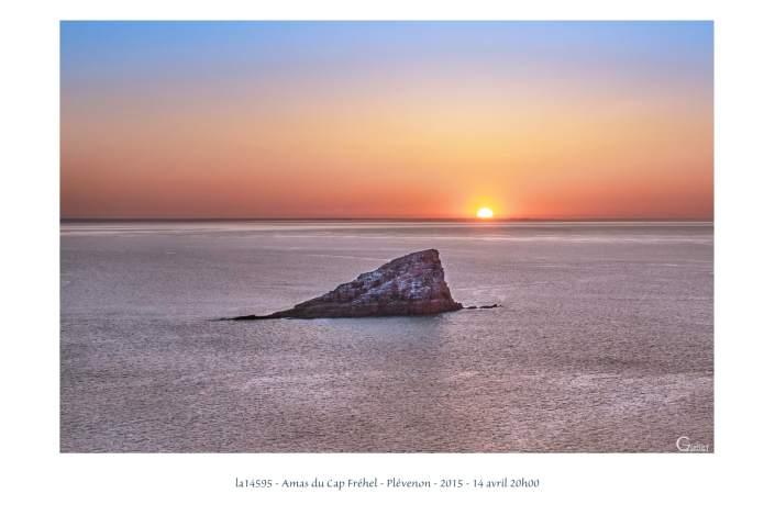 portfolio du photomarcheur - coucher de soleil sur l'Amas du Cap