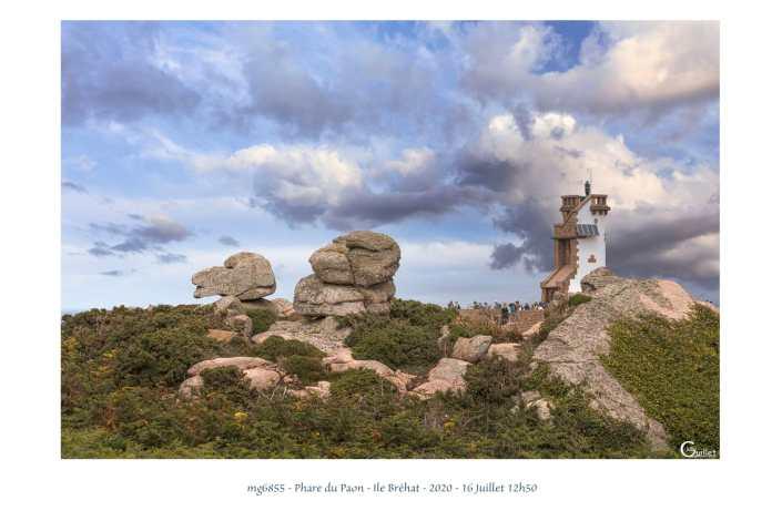 portfolio du photomarcheur - Phare du Paon sur l'île de Bréhat