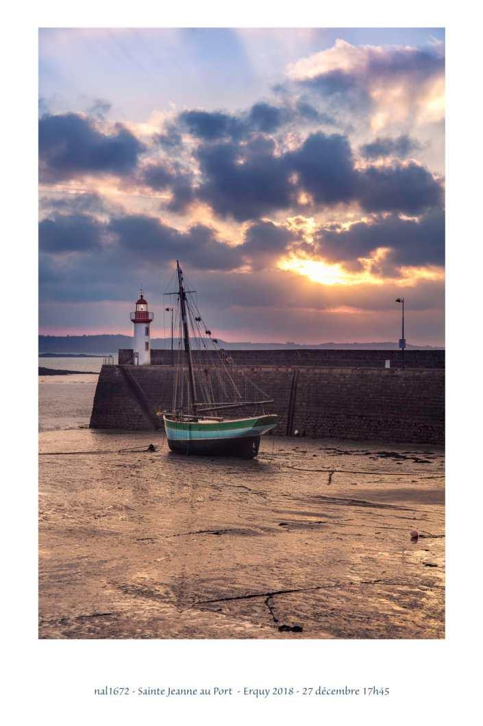 portfolio du photomarcheur - Sainte Jeanne dans le port d'Erquy