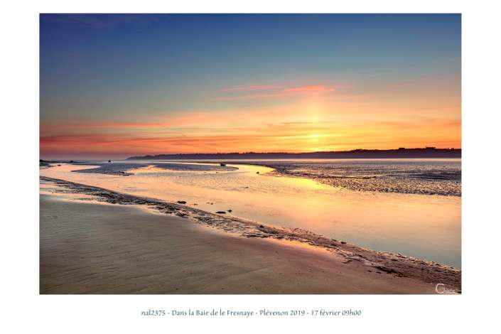 portfolio du photomarcheur - dans la baie de la Fresnaye