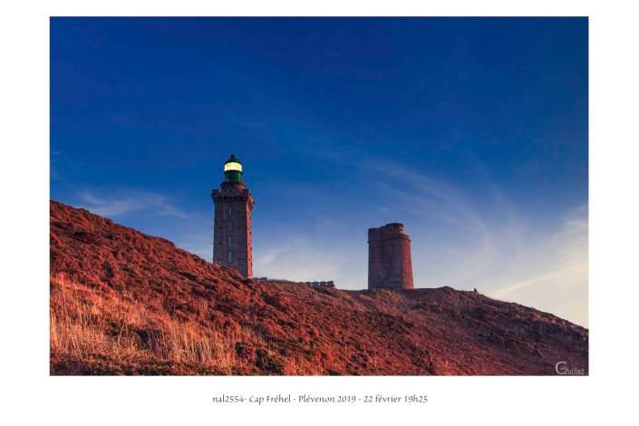 portfolio du photomarcheur - Fin de journée sur le phare du Cap Fréhel