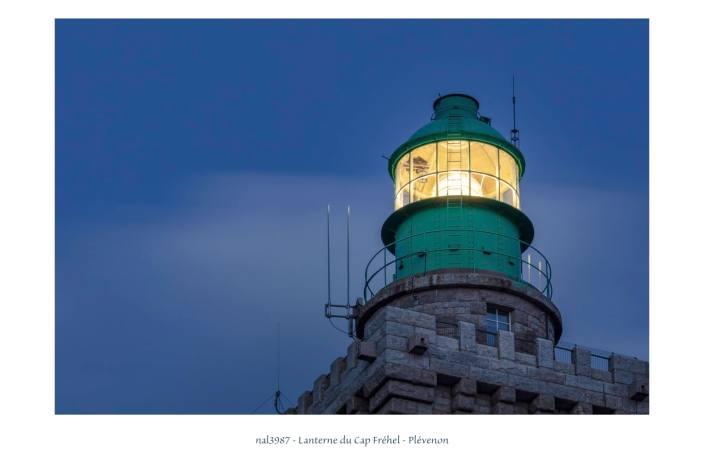 Portfolio - lanterne du phare du Cap Fréhel
