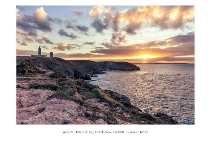portfolio du photomarcheur - Fin de journée sur le Cap Fréhel