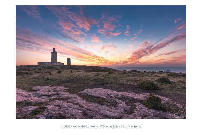 portfolio du photomarcheur - coucher de soleil sur le Cap Fréhel