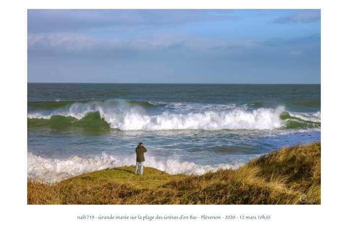 portfolio du photomarcheur - grande marée sur la plage des Grèves d'en Bas