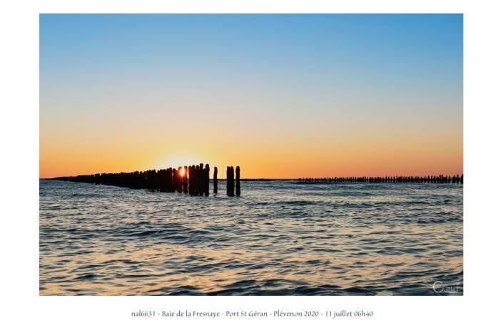 portfolio du photomarcheur - lever de soleil dans la baie de la Fresnaye