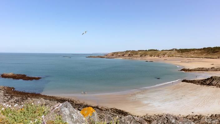 cap d'erquy plage immense à marée basse