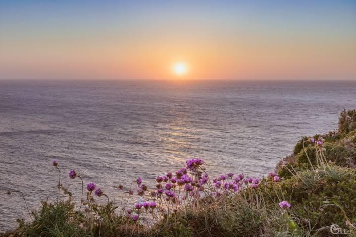 Coucher de soleil au Cap Fréhel