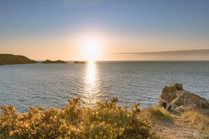 Coucher de soleil au Cap d'Erquy