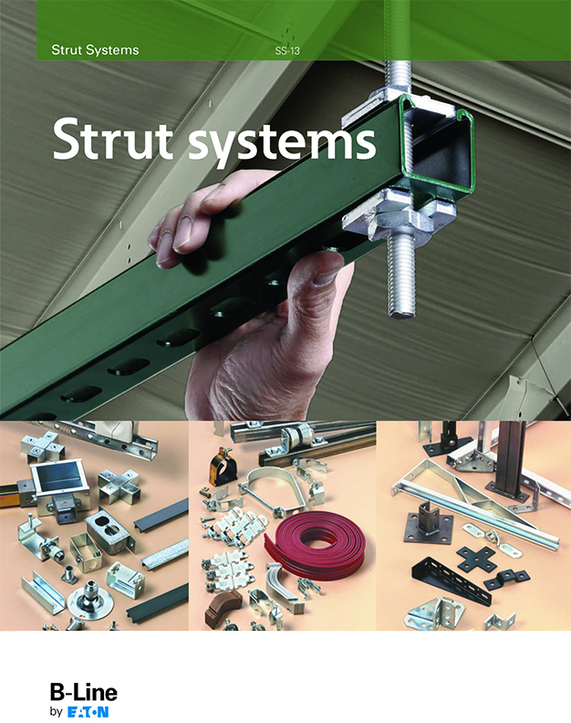 b-line strut systems catalogue