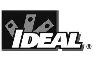 Ideal greyscale logo