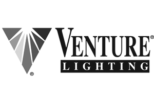 Venture lighting greyscale logo