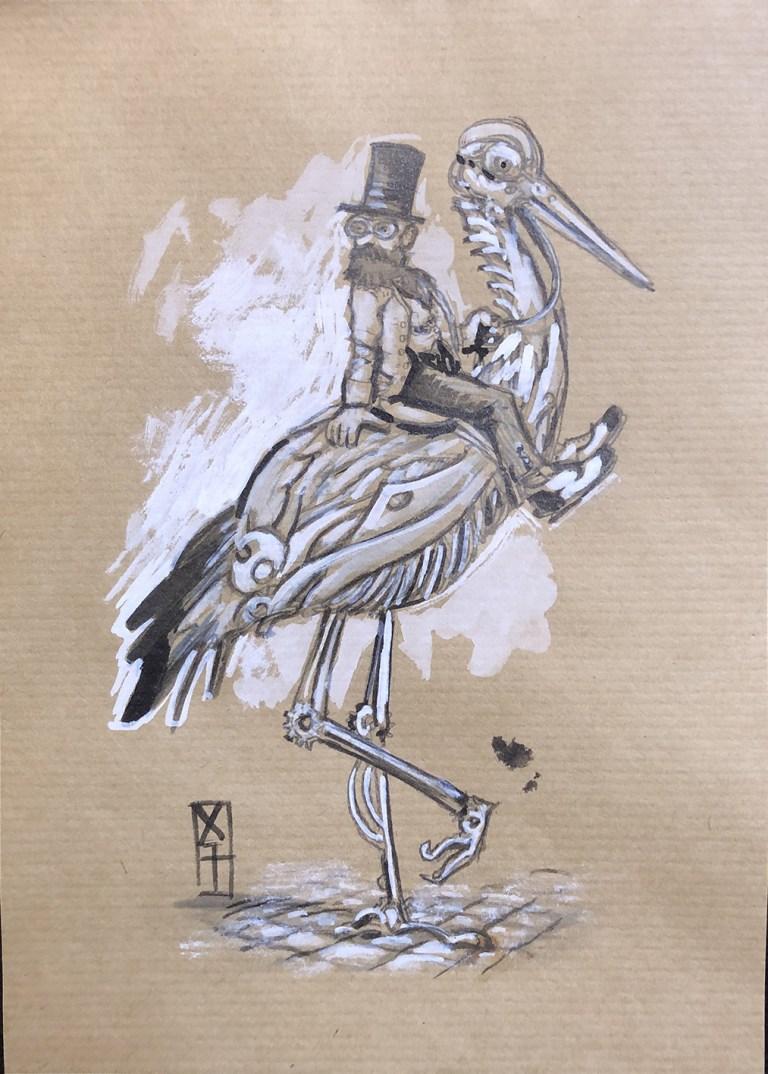84-cigogne-steampunk-VENDU