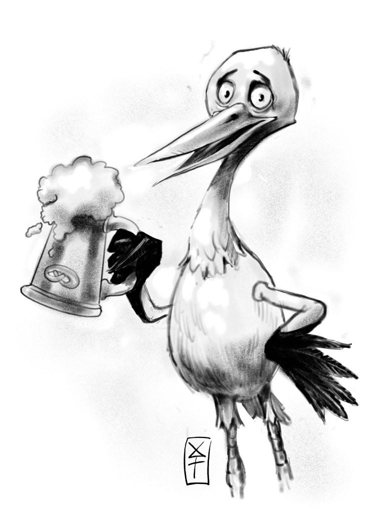26-cigogne-bock -VENDU