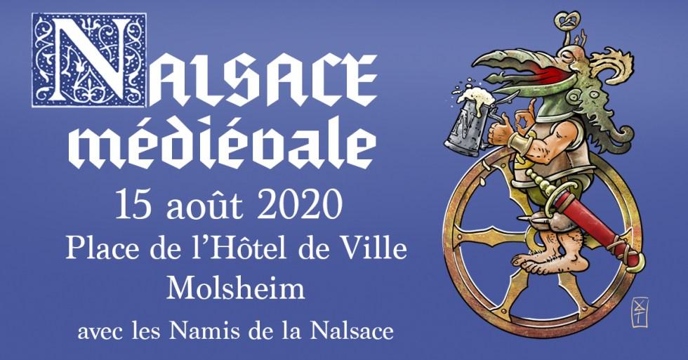 fête du 15 aout à Molsheim La nalsace médiévale