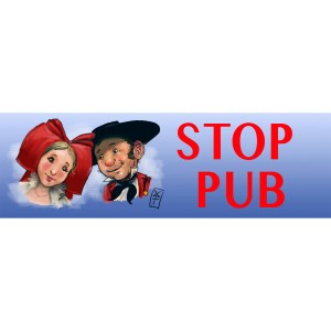 stop-pub couple alsacien