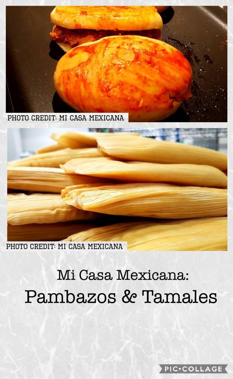 Mi Casa Mexicana's food