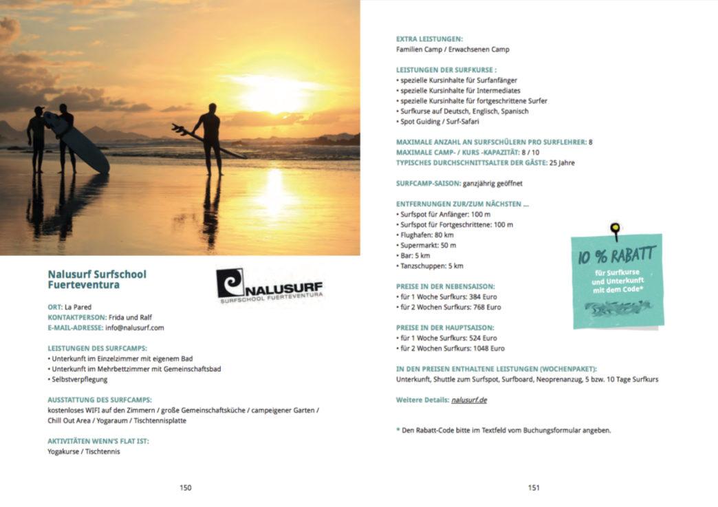 Surfguide Fuerteventura - Nalusurf Rabatt