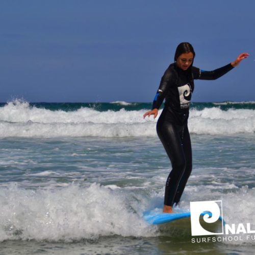 Nalusurf Surfschule Fuerteventura - Surfkurs August 2018