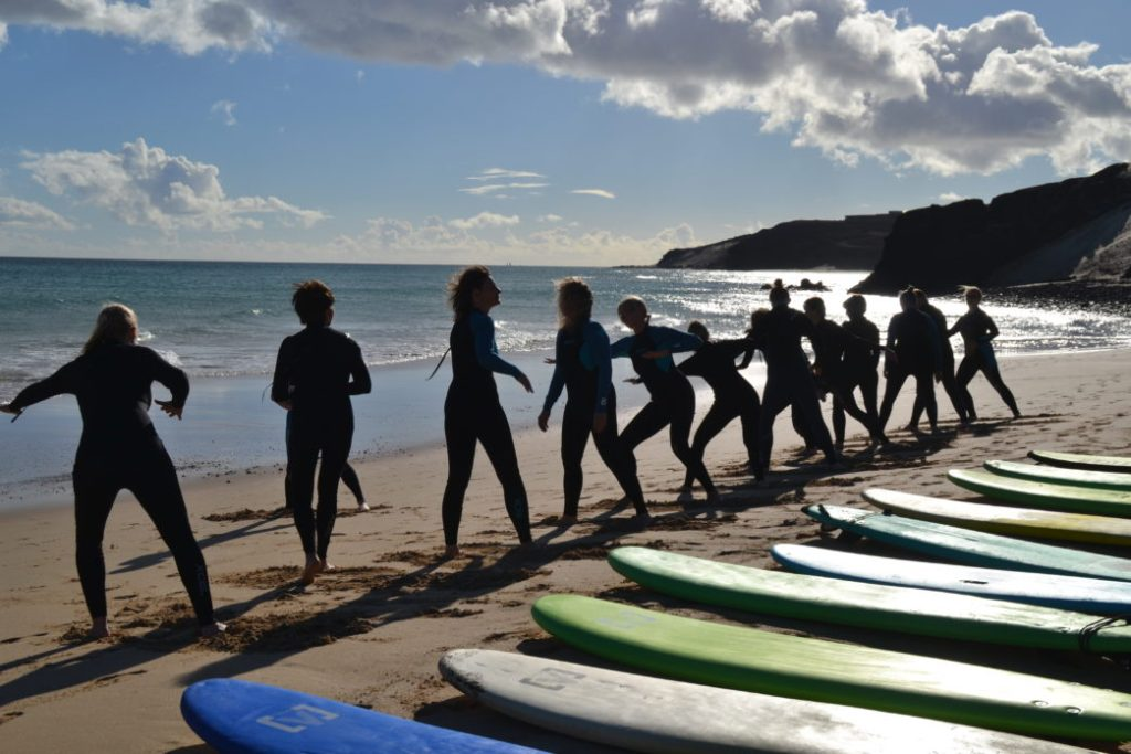 Yoga am Meer & Wellenreiten bei Nalusurf Surfschool - 16.-24. November