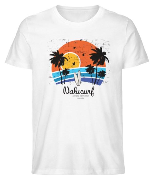 Herren Summer Sunset II - Herren Premium Organic Shirt-3