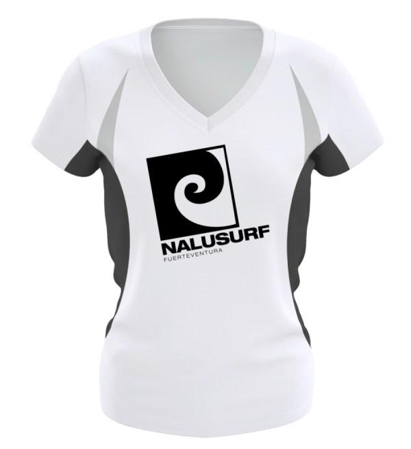 Nalusurf Fuerteventura Sport - Frauen Laufshirt tailliert geschnitten-6757