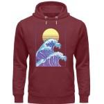 Wave of Life - Unisex Organic Hoodie-6883