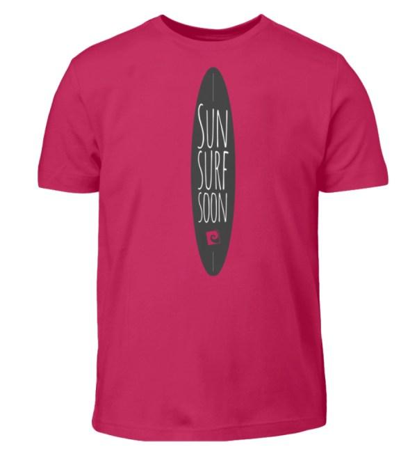 Sun Surf Soon - Kinder T-Shirt-1216