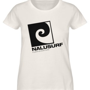 Nalusurf Fuerteventura - Damen Premium Organic Shirt-6881