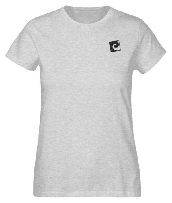 Textil Stick Nalu II - Damen Organic Melange Shirt mit Stick-6892