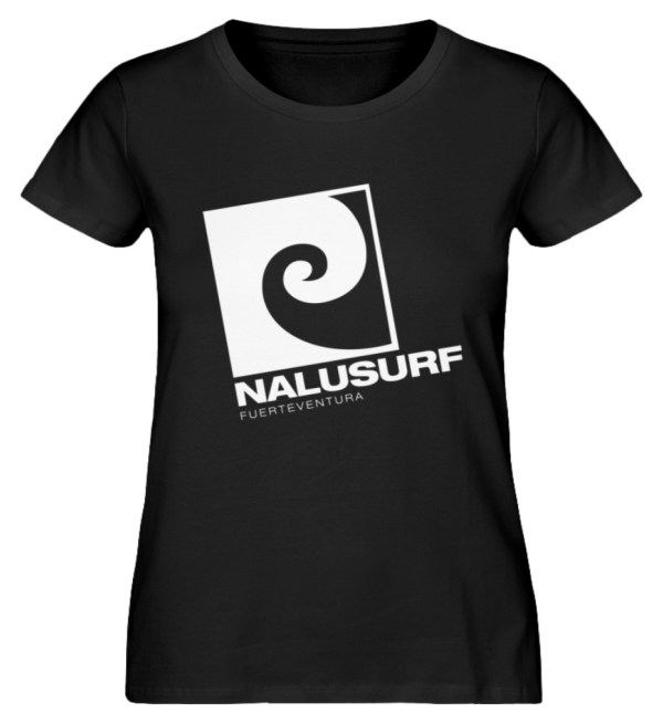 Nalusurf Fuerteventura II - Damen Premium Organic Shirt-16