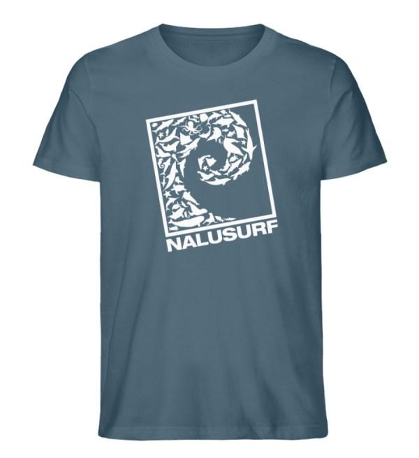 Nalusurf Ocean Life II - Herren Premium Organic Shirt-6895