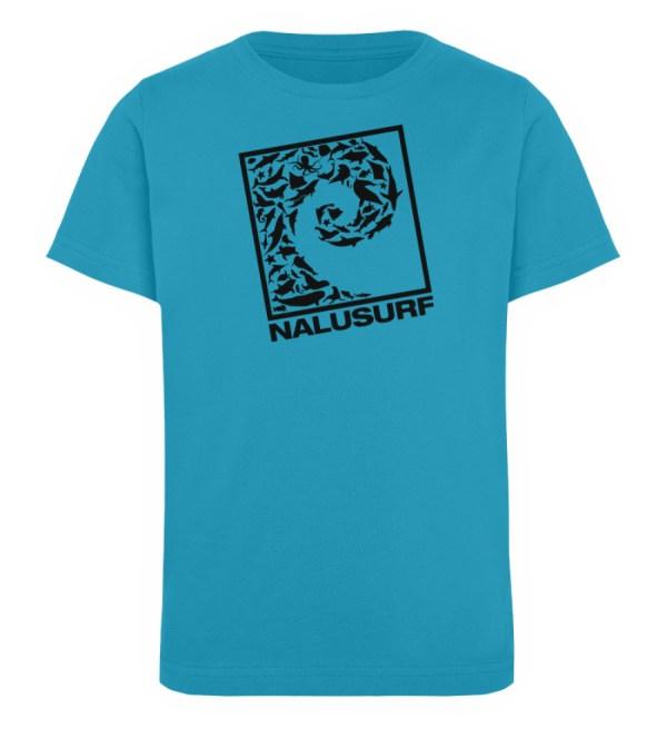 Nalusurf Ocean Life - Kinder Organic T-Shirt-6885