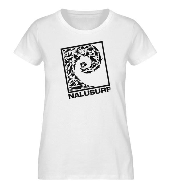 Nalusurf Ocean Life - Damen Premium Organic Shirt-3