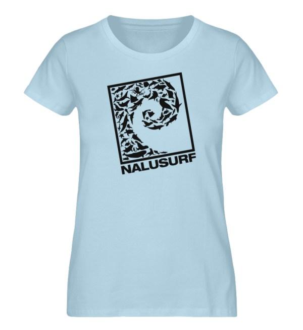 Nalusurf Ocean Life - Damen Premium Organic Shirt-6888