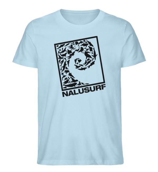 Nalusurf Ocean Life - Herren Premium Organic Shirt-6888