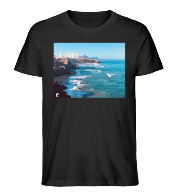 L.A. Pared - Herren Premium Organic Shirt-16