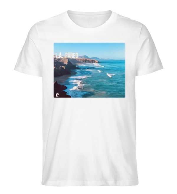 L.A. Pared - Herren Premium Organic Shirt-3