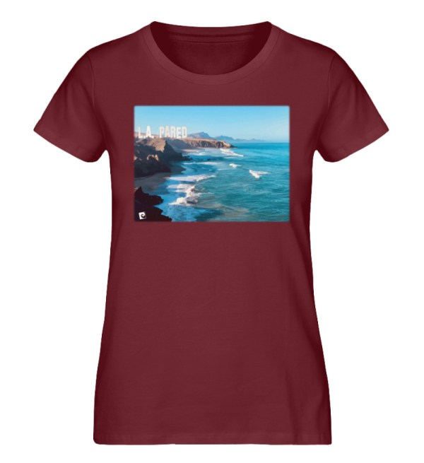 L.A. Pared - Damen Premium Organic Shirt-6883