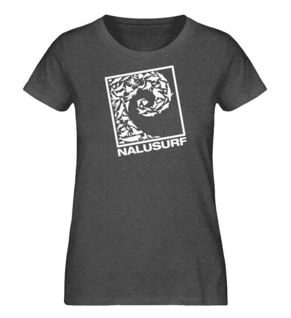 Nalusurf Ocean Life II - Damen Organic Melange Shirt-6898