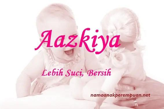 arti nama Aazkiya