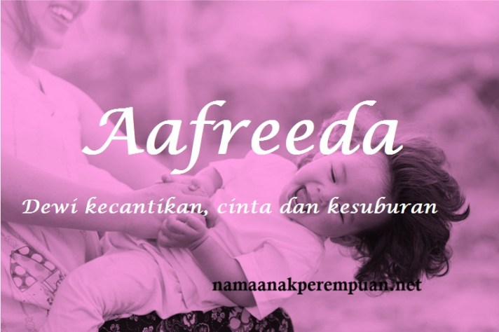 arti nama aafreeda