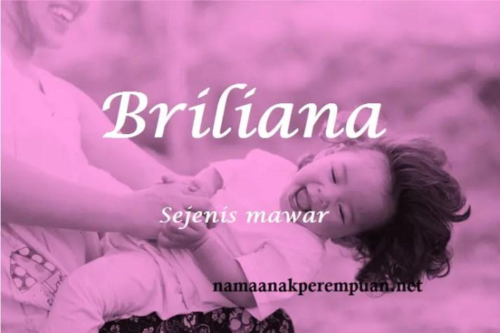 arti nama briliana