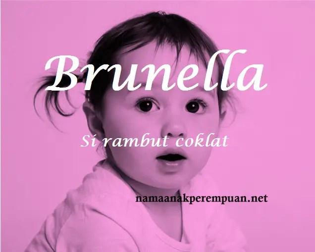 arti nama brunella