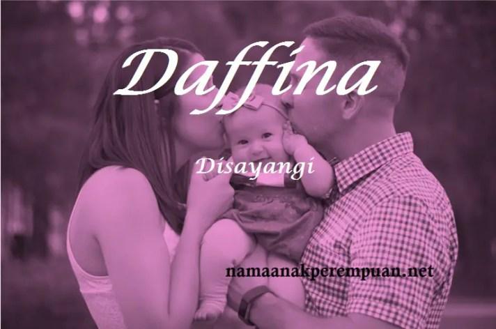 arti nama daffina