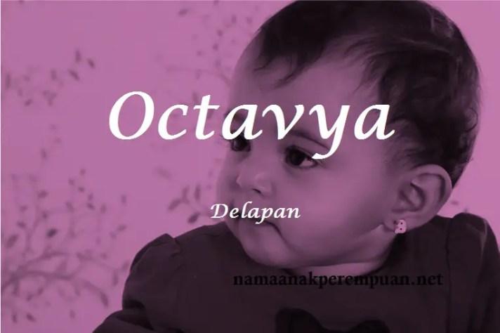 arti nama octavya
