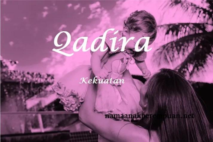 arti nama qadira