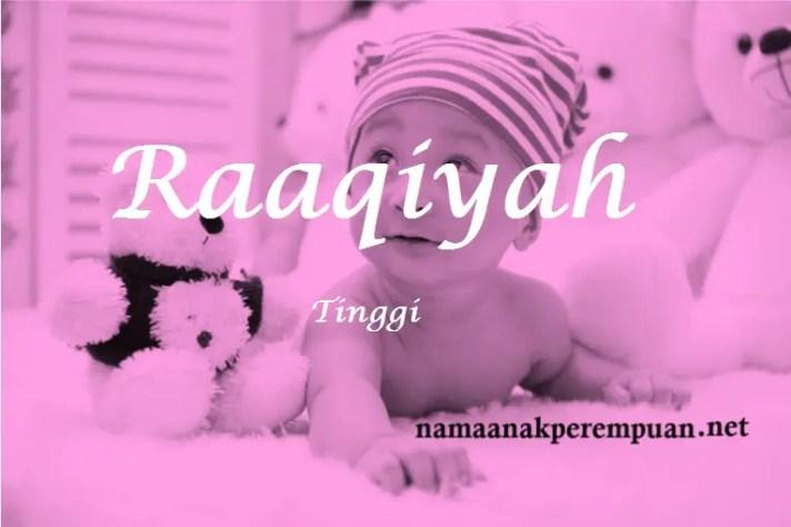 arti nama raaqiyah